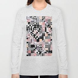 RAND PATTERNS #72: Procedural Art Long Sleeve T-shirt