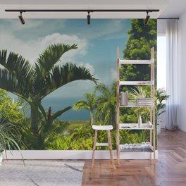 Garden of Eden Tropical Paradise Puohokamoa Maui Hawaii Wall Mural