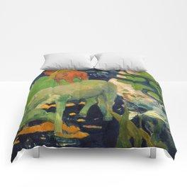 "Paul Gauguin ""The White Horse"" Comforters"