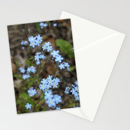 Copious Forget-Me-Nots Stationery Cards