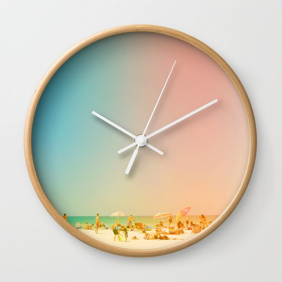 Life in the Sun Wall Clock