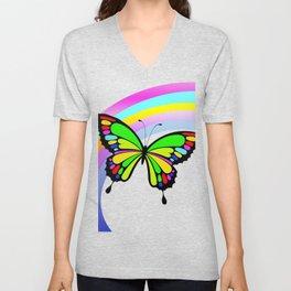 Butterfy Unisex V-Neck