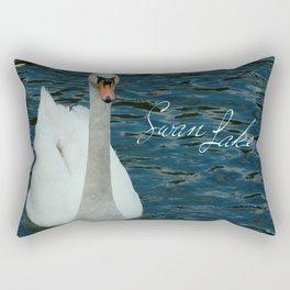 Mute Swan Rectangular Pillow