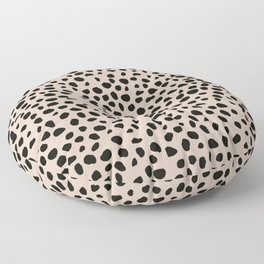 Jaguar | Black Floor Pillow