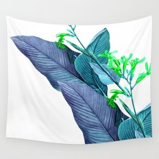 Leaf feathers Wall Tapestry