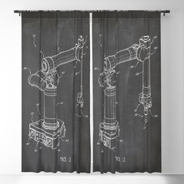 Robotic arm Blackout Curtain