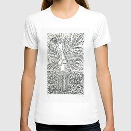 Sculpture in Garden T-shirt