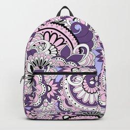 violet zen composition Backpack