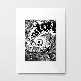 On&On&Bristol Metal Print