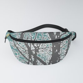 Nature Vector Style Illustration Fanny Pack