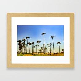 Venice beach CA. Framed Art Print
