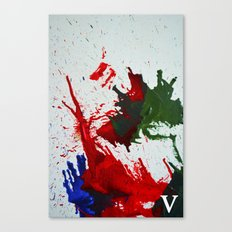 melted wax Canvas Print