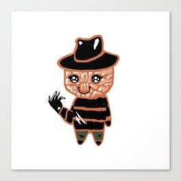 Creepy Kawaii Freddy Canvas Print