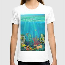 Undersea Art With Coral T-shirt