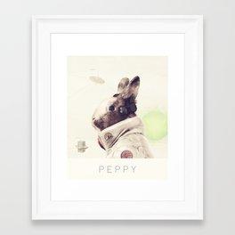 Star Team - Peppy Framed Art Print