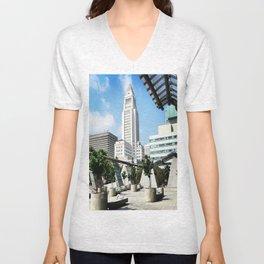 City Hall - 'Lost' Angeles Unisex V-Neck