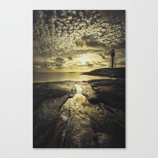 Good night sweet sun Canvas Print