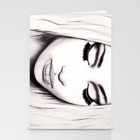 nicki Stationery Cards featuring  Nicki  by Bella Harris