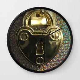Eye Nose Secrets Wall Clock
