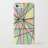 stained glass iPhone & iPod Cases featuring Stained Glass by Tammy Kushnir