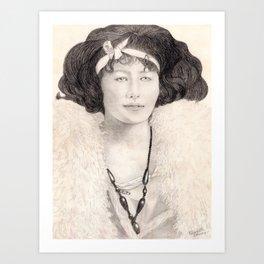 Ona Lee Art Print