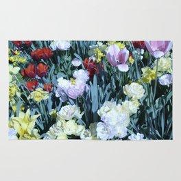 Flowers at Versailles  Rug