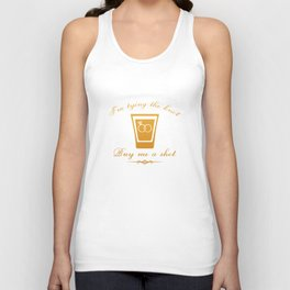 I'm Tying The Knot Buy Me A Shot Unisex Tank Top