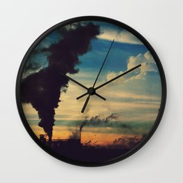 Southside Chicago Factory Wall Clock