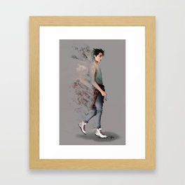 A Step Through Space - Kai Framed Art Print