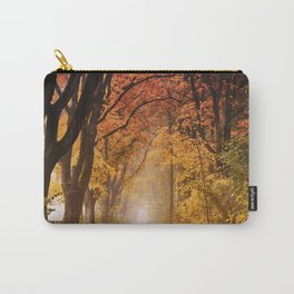 Autumn Fall Forest Path -  Nature Landscape Photography Carry-All Pouch
