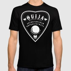 OUIJA PLANCHETTE Black Mens Fitted Tee MEDIUM