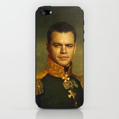 Matt Damon - replaceface iPhone & iPod Skin