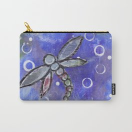 Follow your Intuition Dragonflies Carry-All Pouch