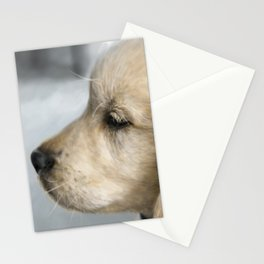 Buddy in profile Stationery Cards