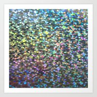 holographic Art Prints featuring Holographic I by Featured Interiors