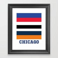 CHICAGO SPORTS Framed Art Print