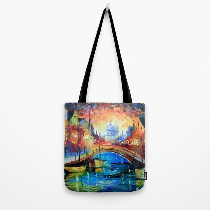 Evening Amsterdam Tote Bag