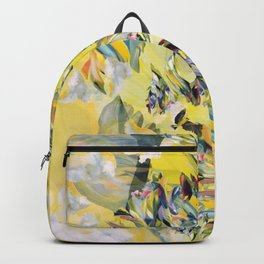 Yellow Flower Storm Backpack