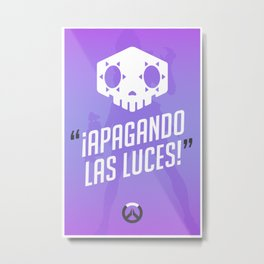 Ultimate Quote - Sombra Metal Print