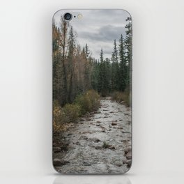 Rocky River Autumn iPhone Skin