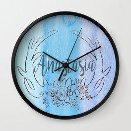 customized antler decor Wall Clock