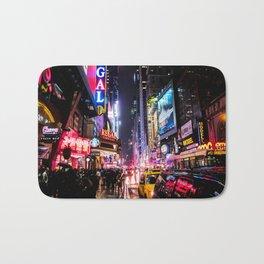 New York City Night Bath Mat