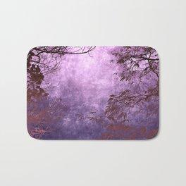 Purple Landscape Bath Mat