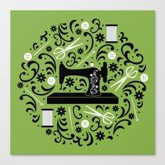 Sewing Essentials Canvas Print