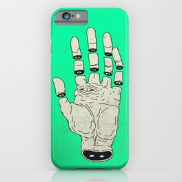THE HAND OF DESTINY / LA MANO DEL DESTINO iPhone Case