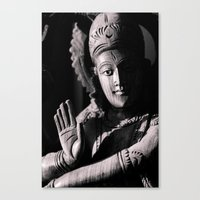 shiva Canvas Prints featuring Shiva by Justin Henderson