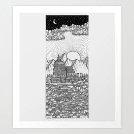 Citadel Art Print