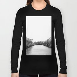 canal in Amsterdam Long Sleeve T-shirt