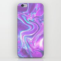 hologram iPhone & iPod Skins featuring Hologram by Claudia