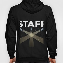 Concert Event Staff for Music Events, Singing Shows, Venues Hoody